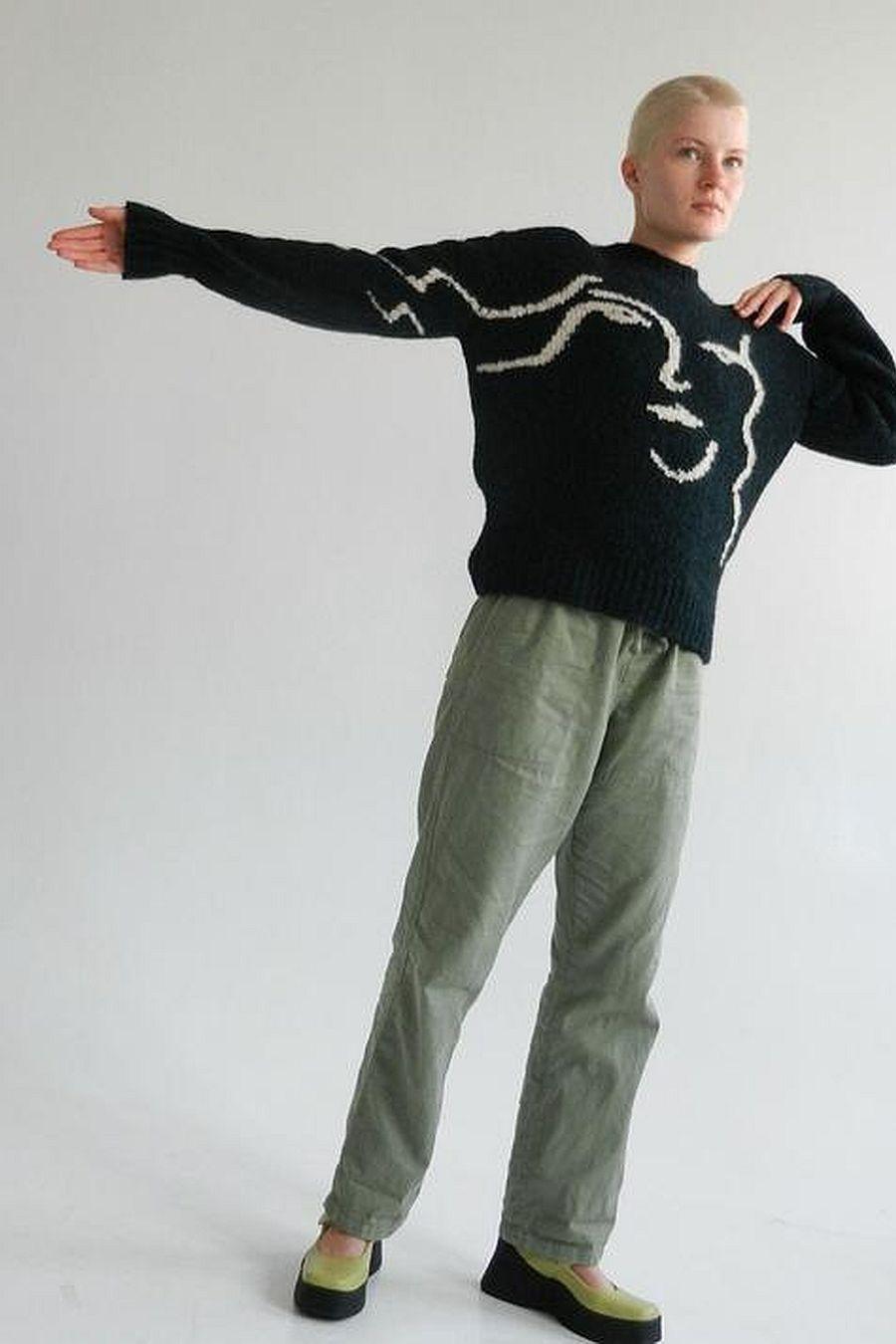 Paloma Wool Anita Sweater - Dark Green