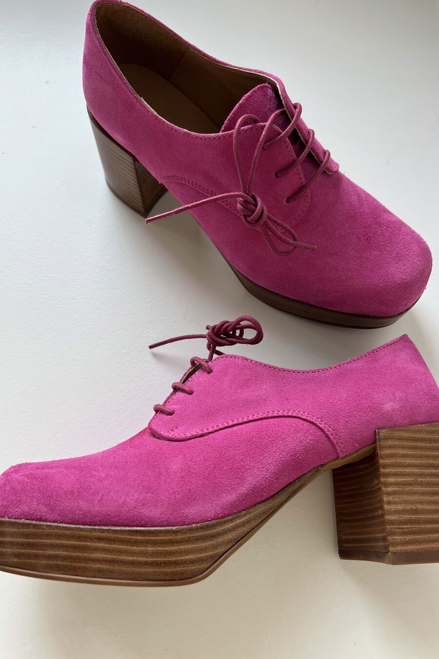 Intentionally Blank ALBANY Magenta Suede