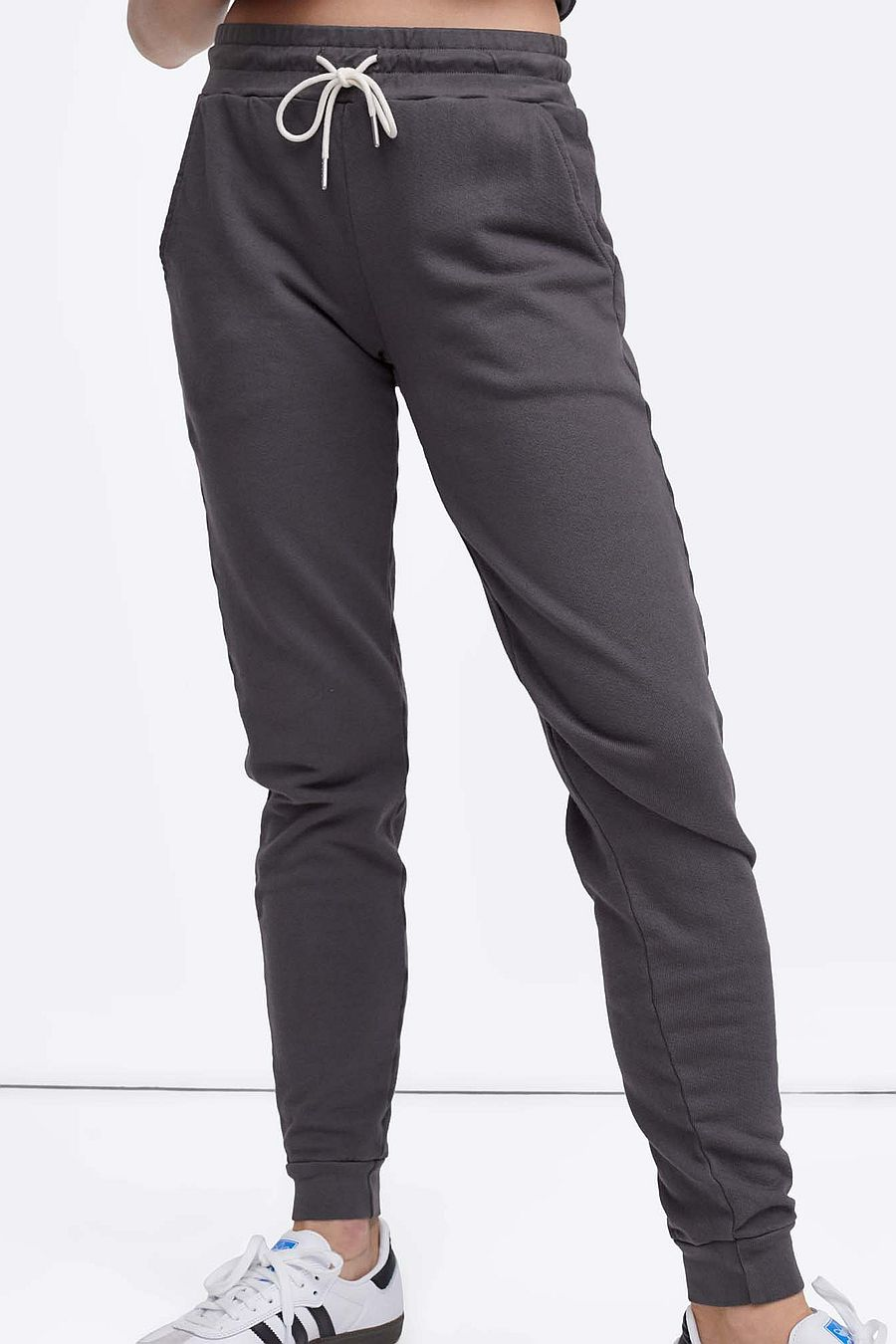 MATE The Label Organic Terry Classic Jogger - CHARCOAL