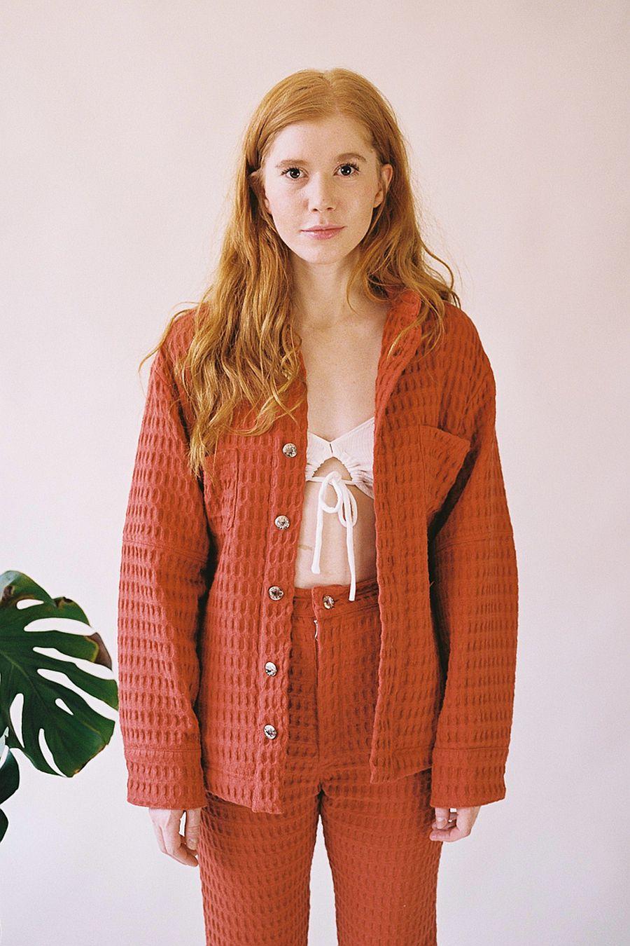 Aniela Parys Julian Waffle - Rust