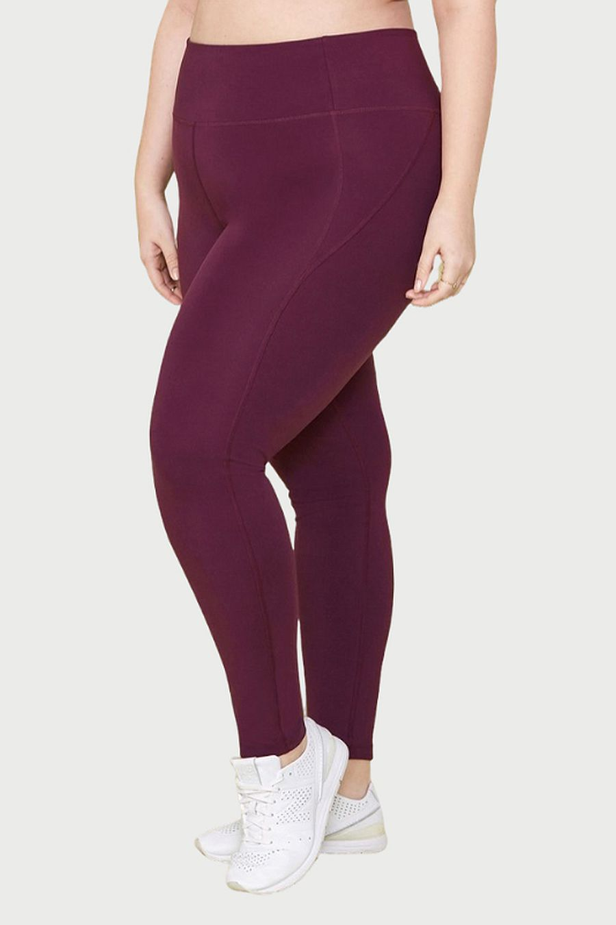 "Girlfriend Collective Plum Compressive Legging (28.5"")"
