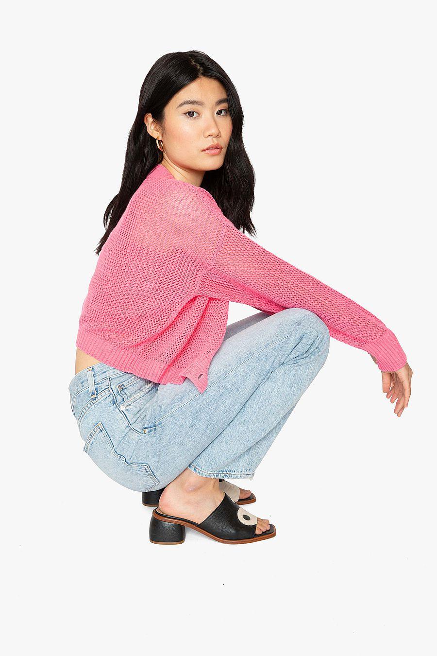 Callahan Em Cardigan Set - Pink