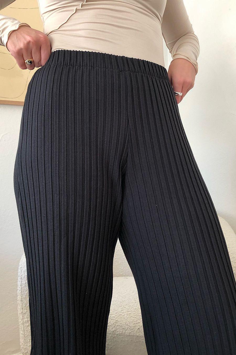 Simon Miller RIB Alder Pants - Black