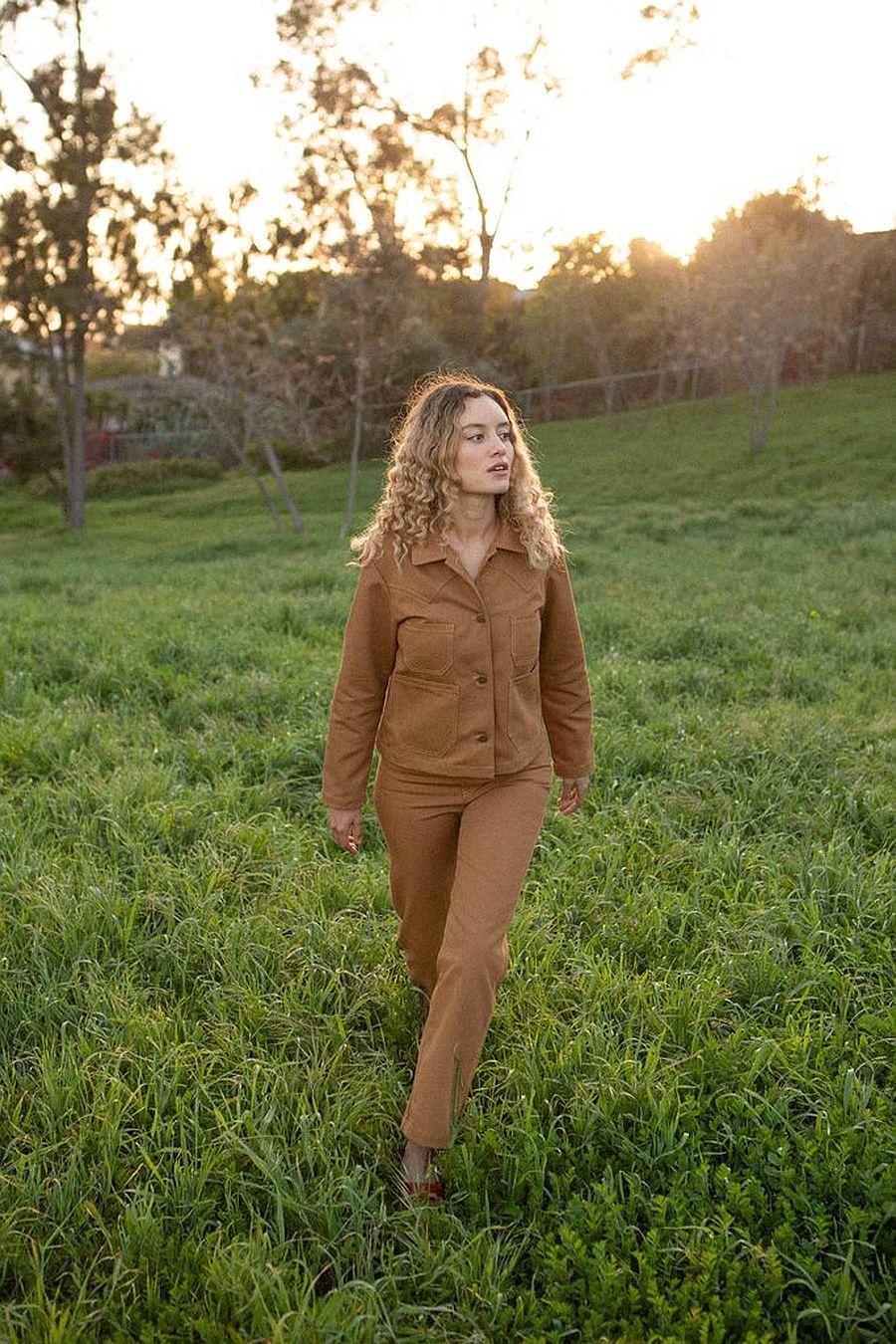 Lykke Wullf Ranch Chore Jacket - Honey