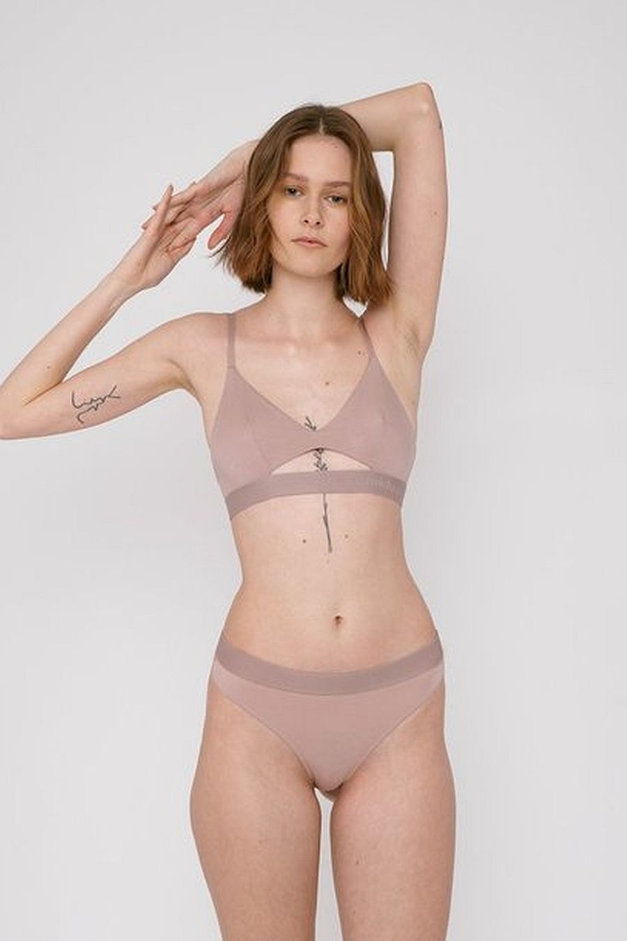 Organic Basics TENCEL™ Soft Touch Bralette - Dusty Pink