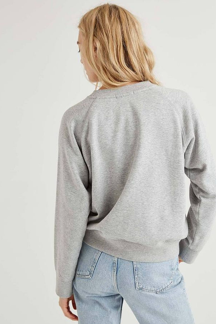 Richer Poorer Fleece Sweatshirt - Grey