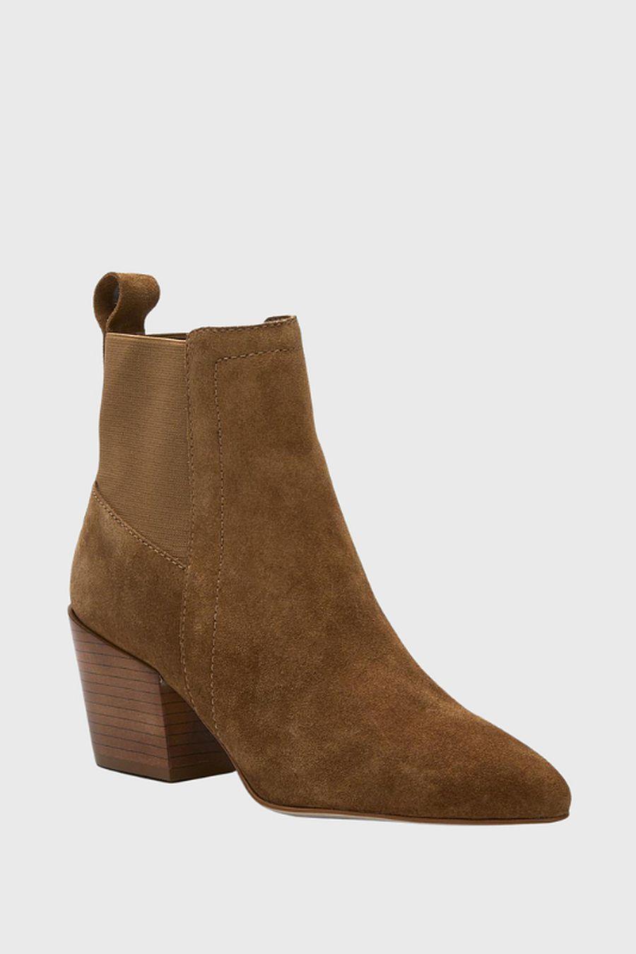 Matisse Footwear Harper Western Bootie - fawn