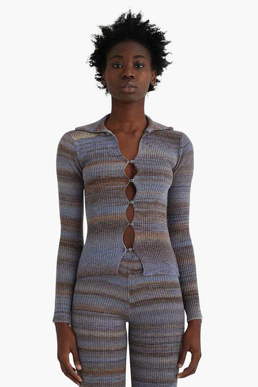 Paloma Wool Avelina Shirt - Greyish Blue