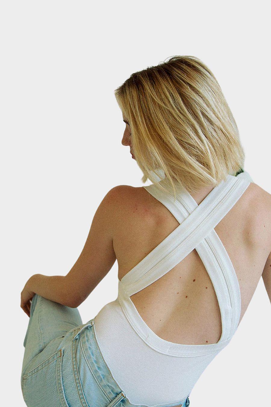 The Line by K Suki Bodysuit - White
