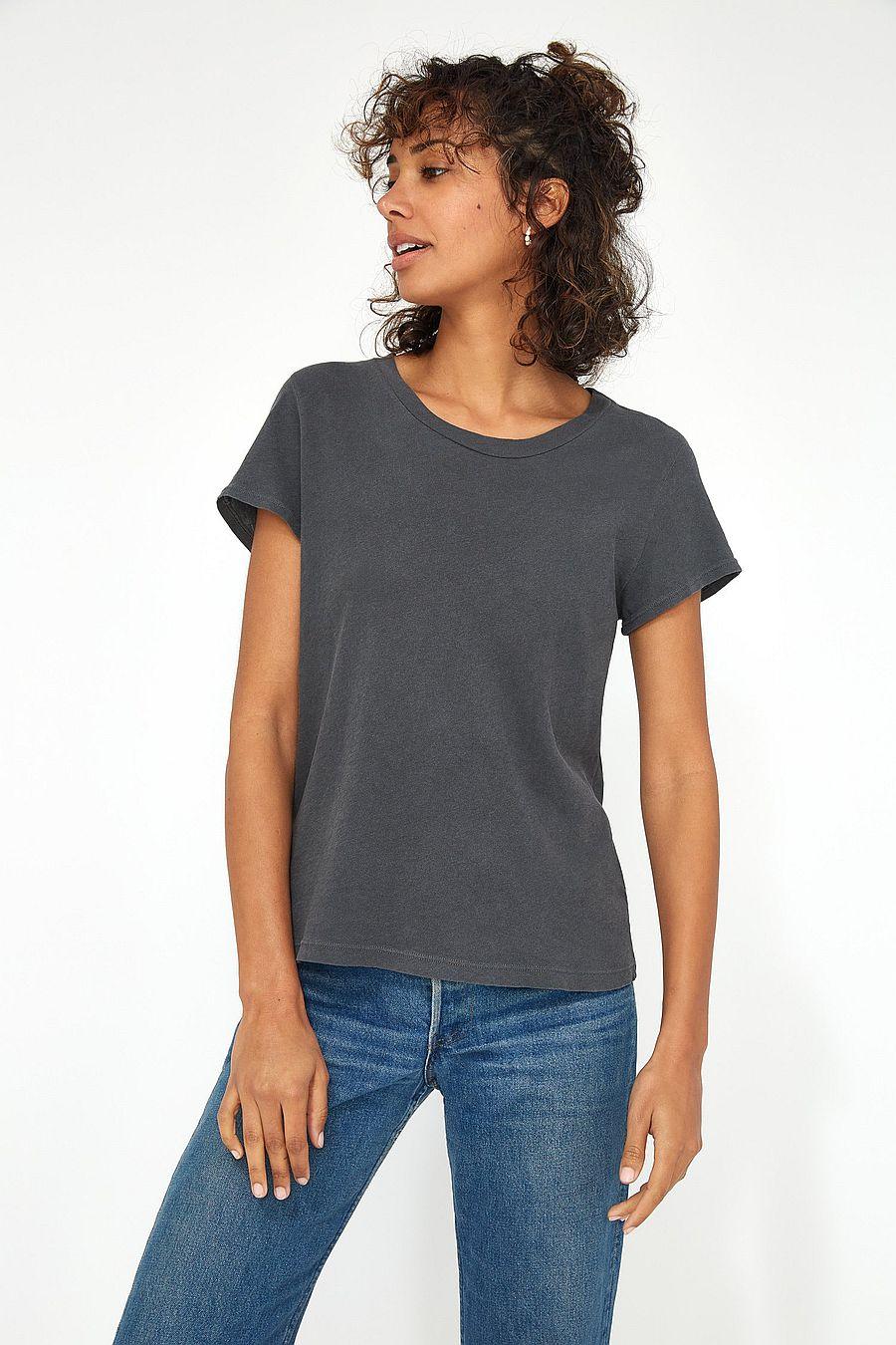 LACAUSA Clothing Frank Tee - Slate