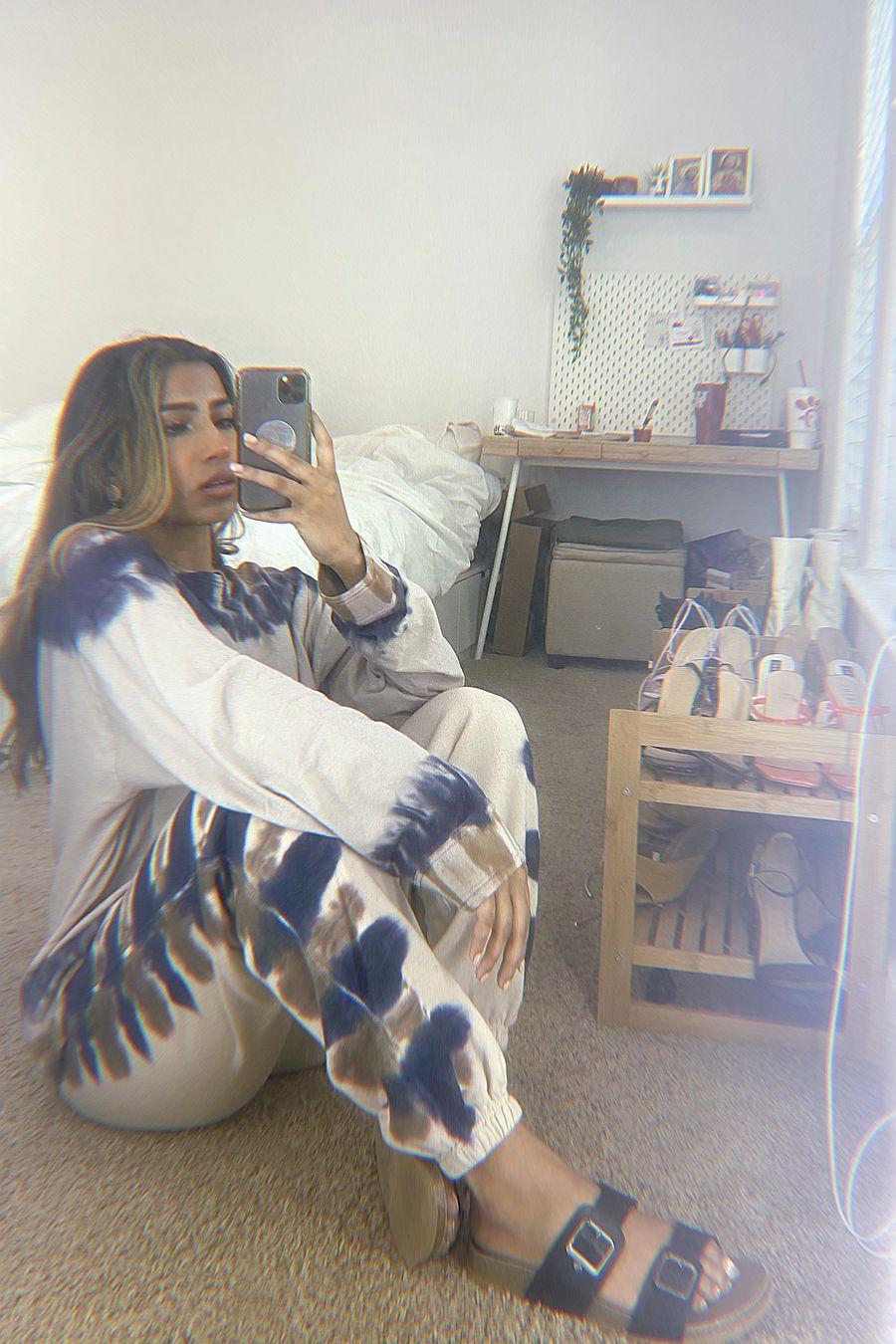 Richer Poorer Fleece Sweatpant - Tie Dye
