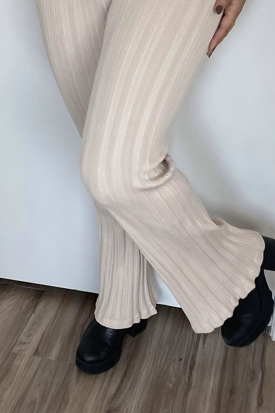 Find Me Now Blakely Knit Pants - Oatmeal