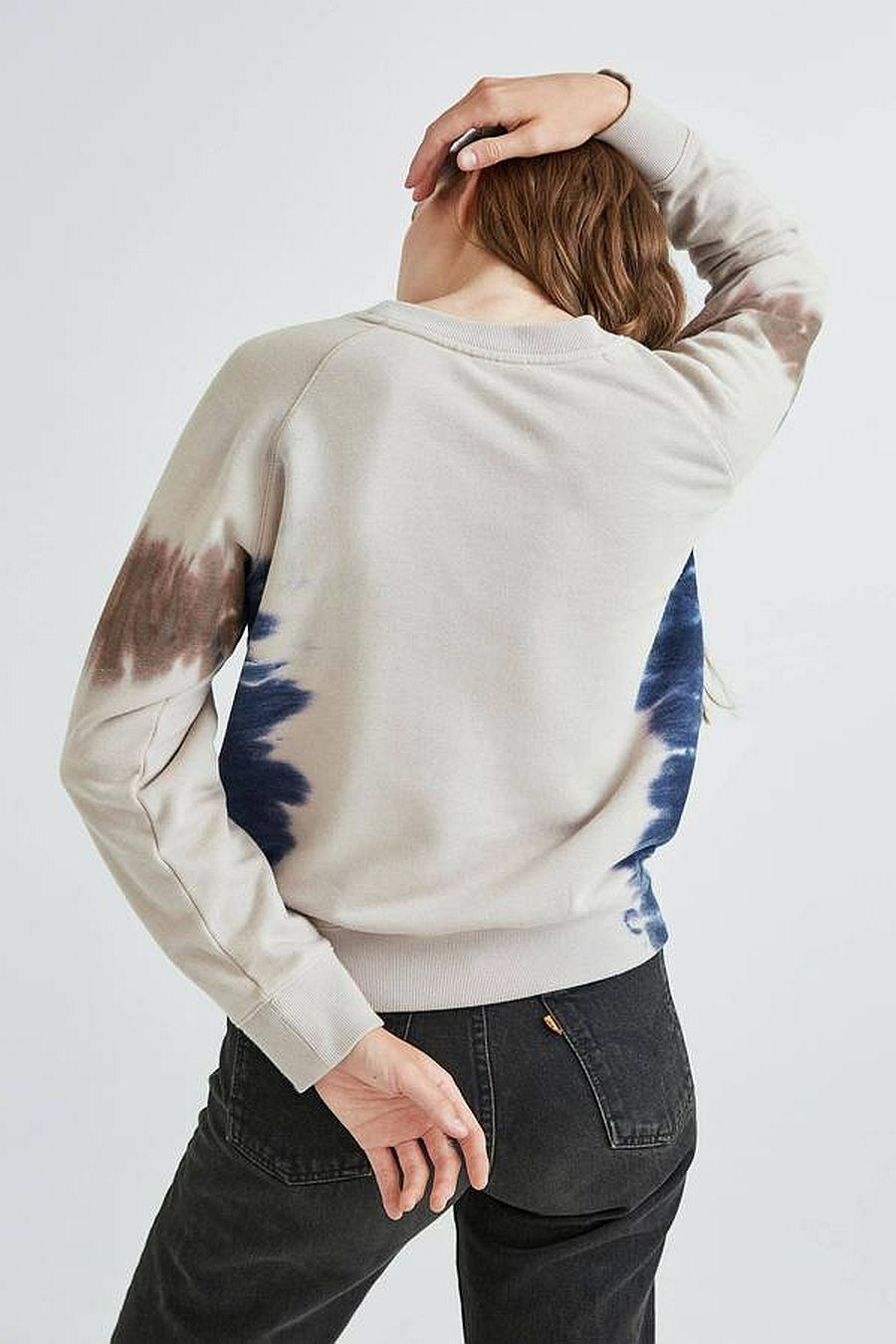 Richer Poorer Fleece Sweatshirt - Tie Dye