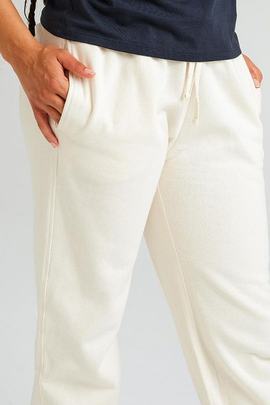 Richer Poorer Recycled Fleece Sweatpant - Bone