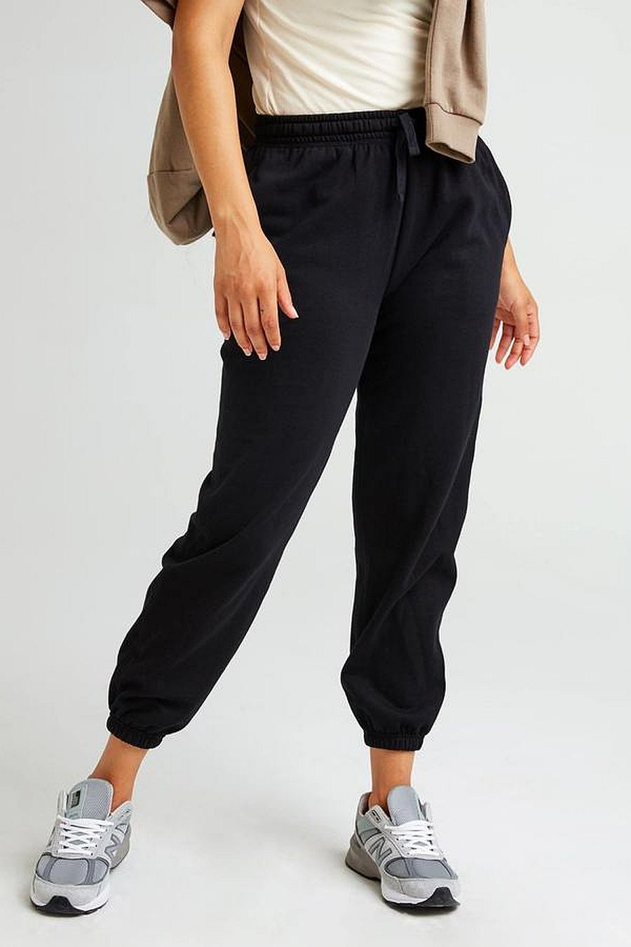 Richer Poorer Recycled Fleece Sweatpant - Black