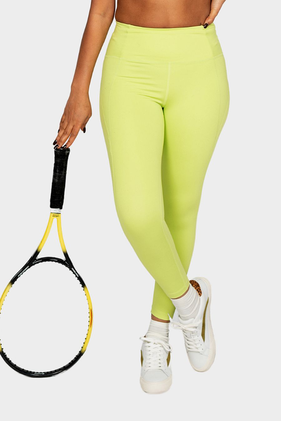 "Girlfriend Collective Lime Compressive Legging (28.5"")"