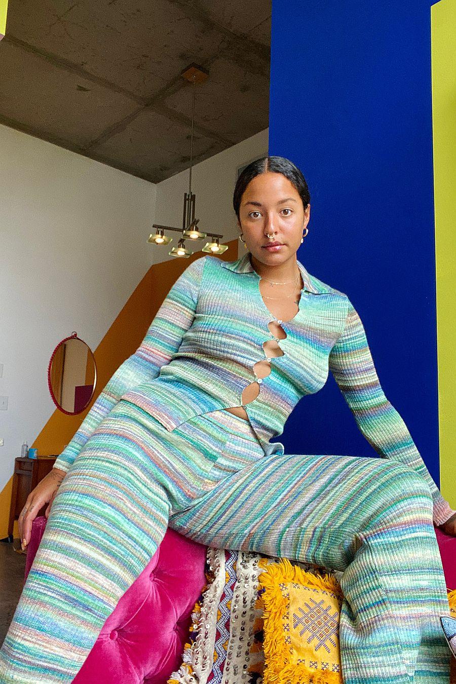 Paloma Wool Fabia Pants - Kiwi Green