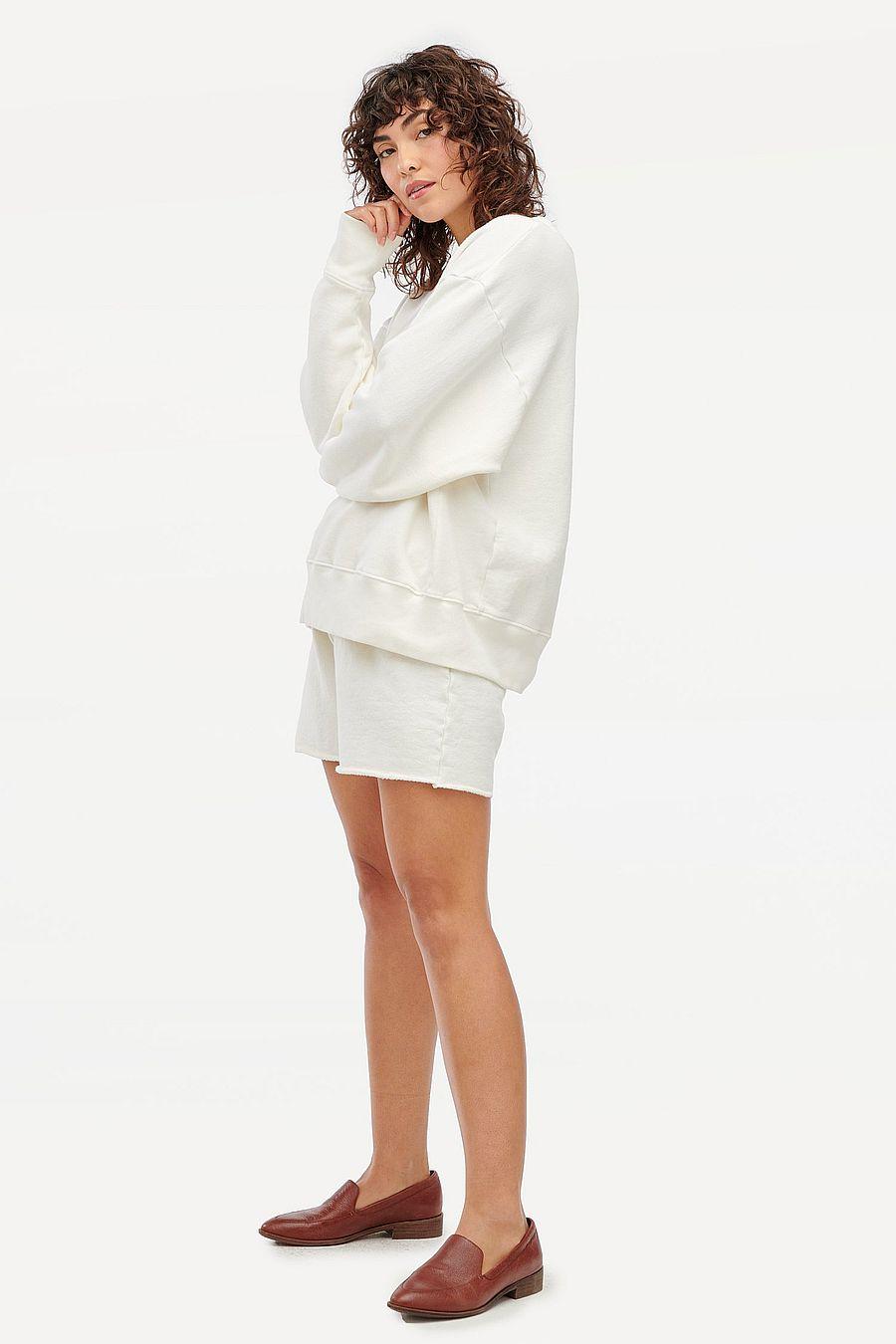 LACAUSA Clothing Slater Sweatshirt - Oatmilk
