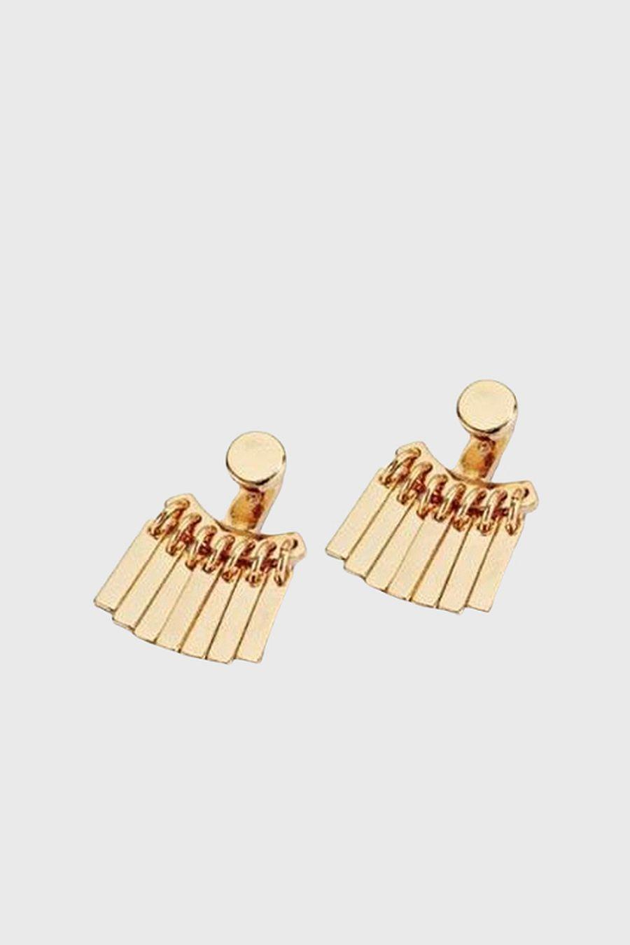 Jenny Bird Raya Ear Jackets - Gold