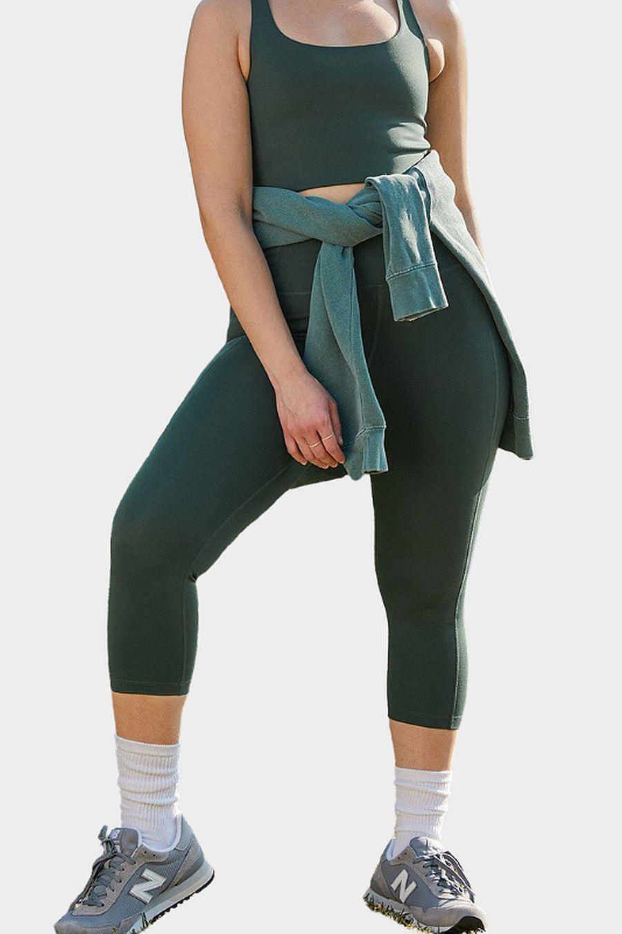 "Girlfriend Collective Moss Compressive Legging (19.5"")"
