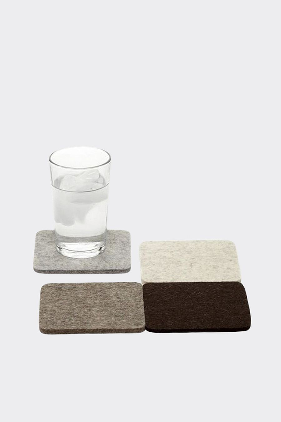 Graf Lantz Bierfilzl Square Felt Coaster - Earth