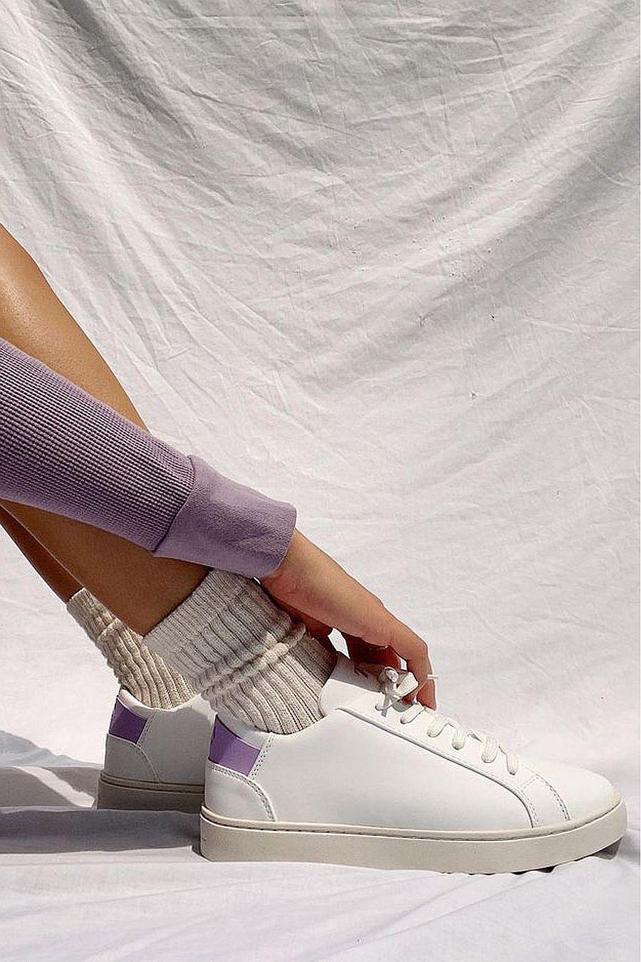 Thousand Fell Women's Lace Up   Psychic Wave (Purple)