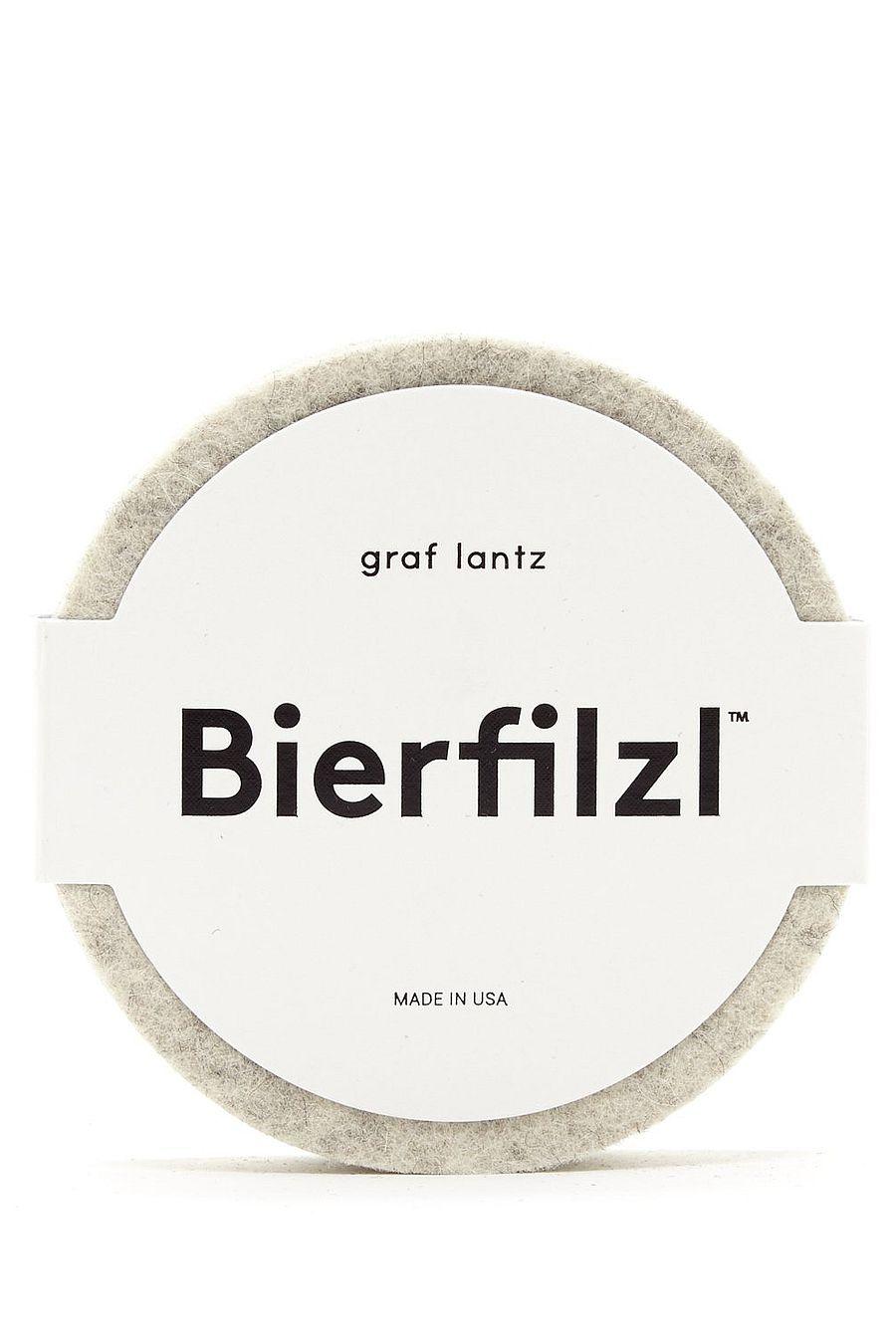 Graf Lantz Bierfilzl Round Felt Coaster - Earth