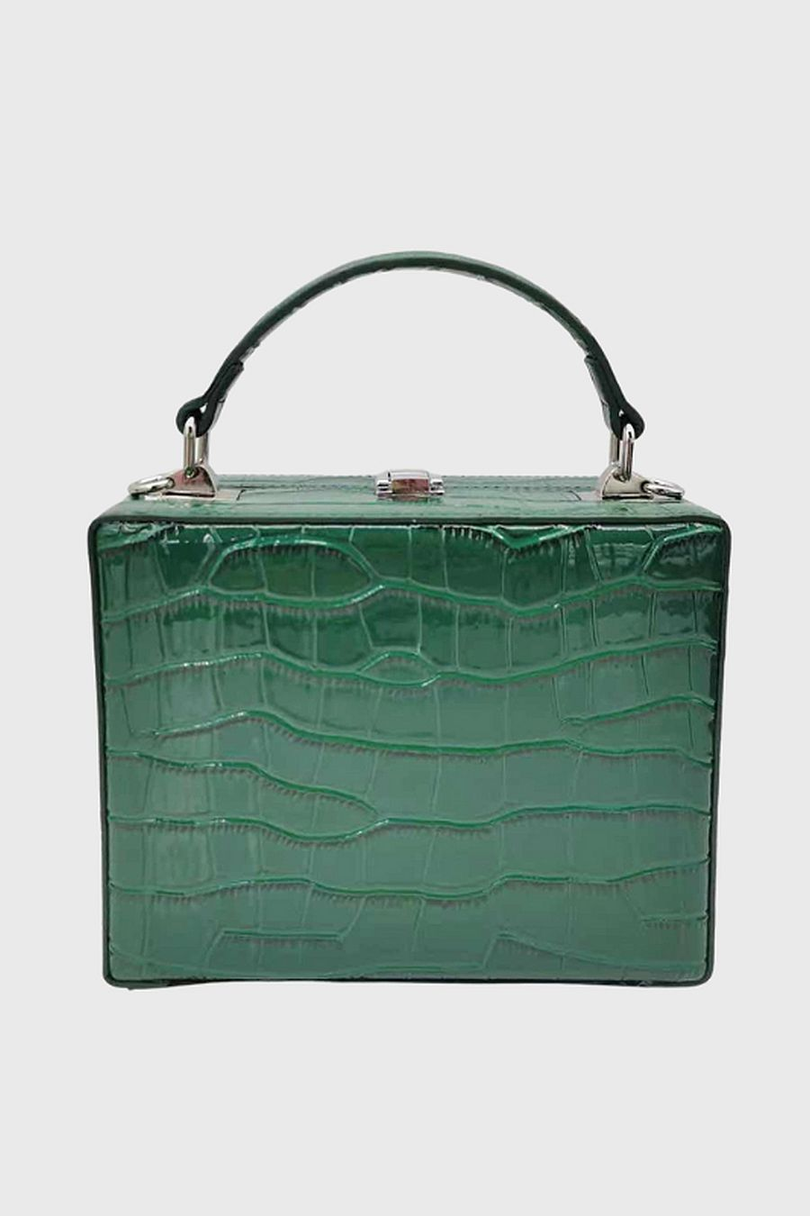 Brandon Blackwood Kendrick Trunk - Forest Green Croc