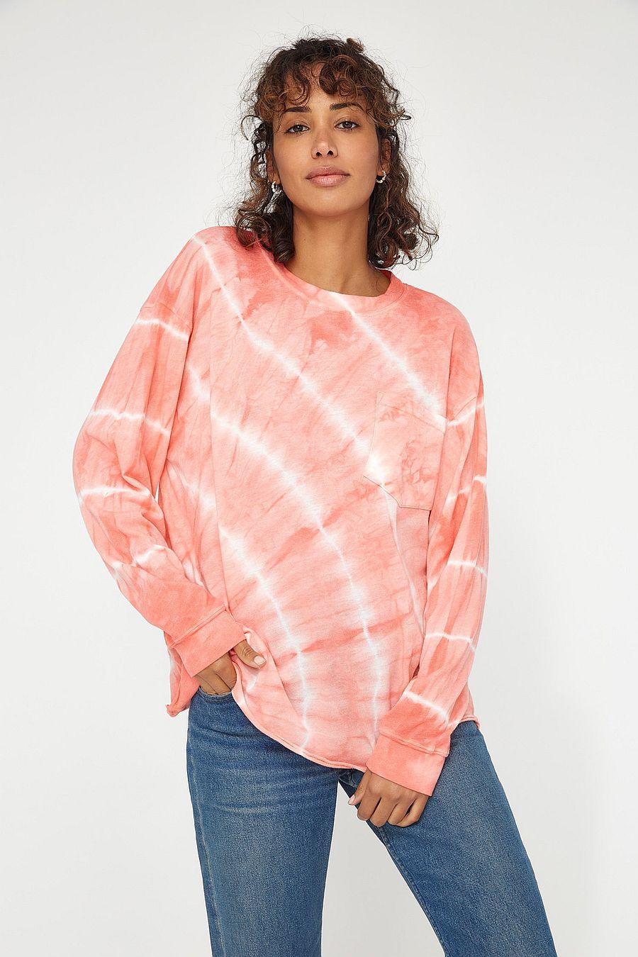 LACAUSA Clothing Longsleeve Crewneck - Grapefruit
