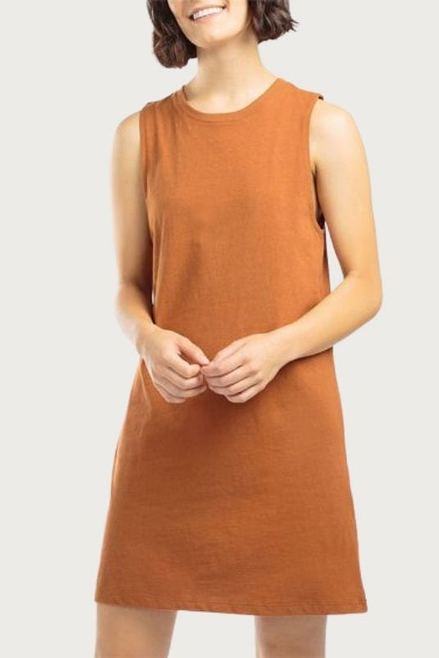 Richer Poorer Women's Tank Dress - Tobacco