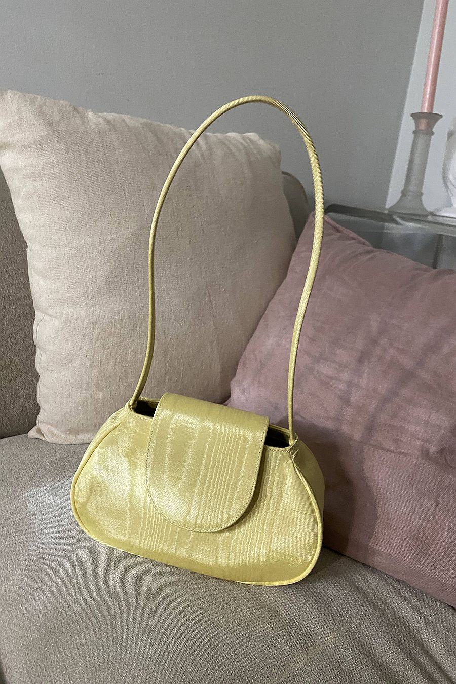 For The Ages New York Ineva Baguette - Banana Yellow
