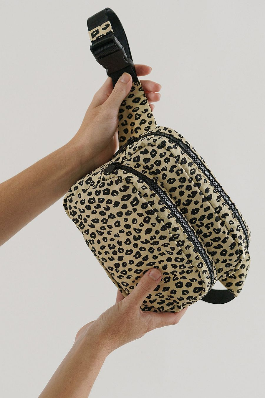 BAGGU Fanny Pack - Honey Leopard
