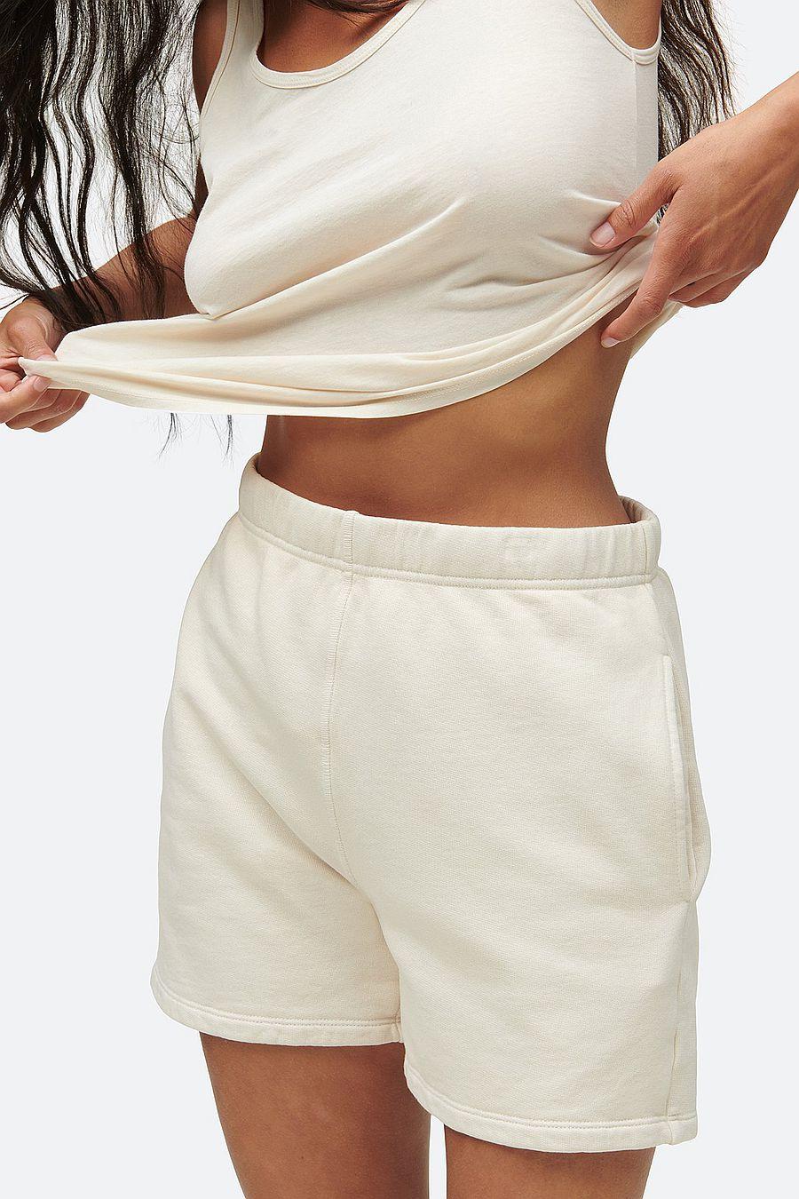 MATE The Label Fleece Pocket Short - BONE