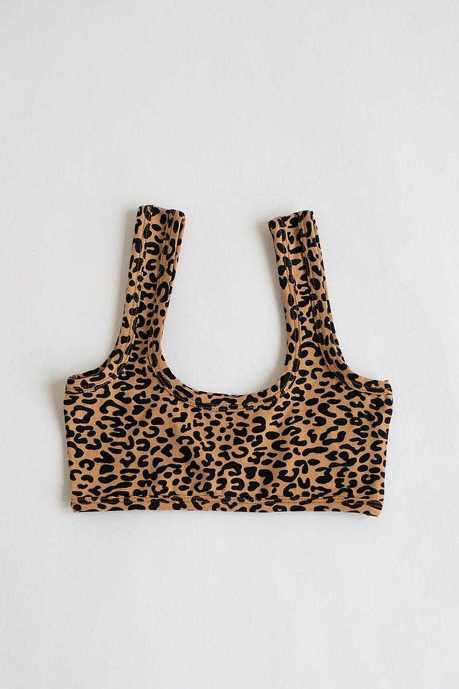 ARQ Wide Strap Bra - Leopard