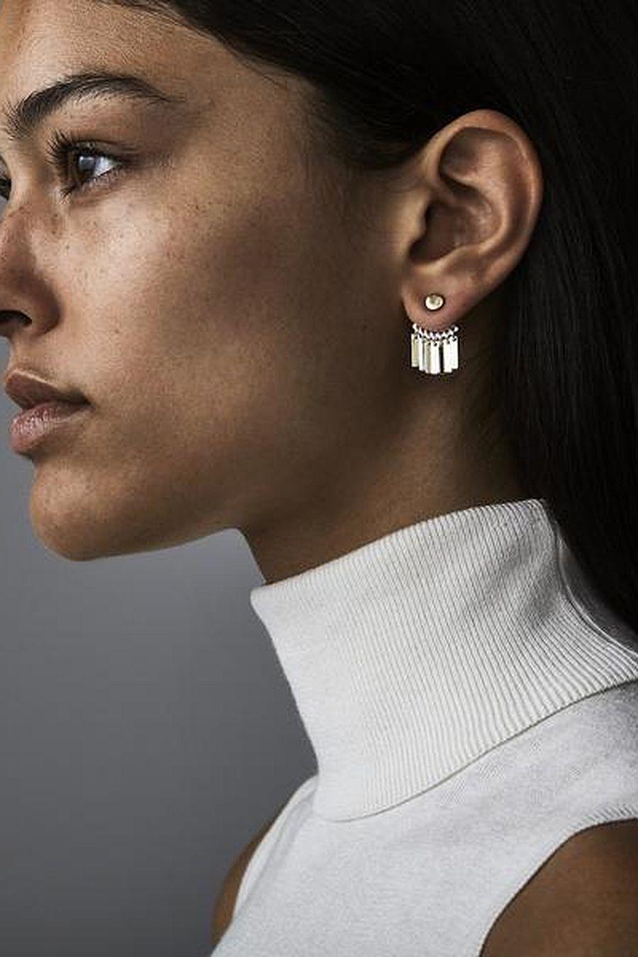 Jenny Bird Raya Ear Jackets - Two-toned