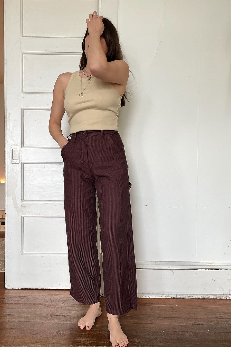 LACAUSA Austin Trouser - Sienna