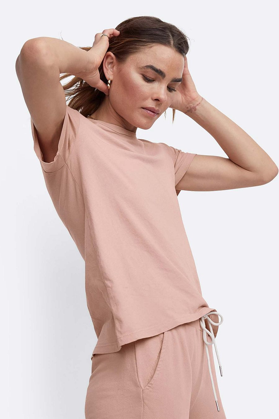 MATE The Label Organic Cotton Classic Tee - ROSE
