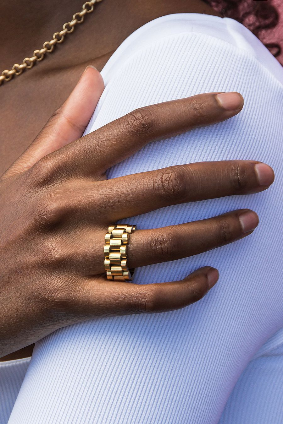 Oma The Label The Timepiece Ring
