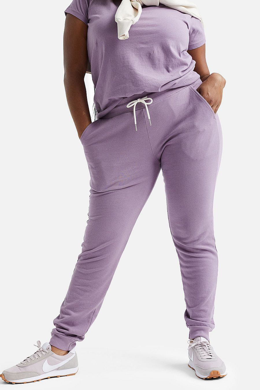 MATE The Label Organic Terry Classic Jogger - LAVENDER