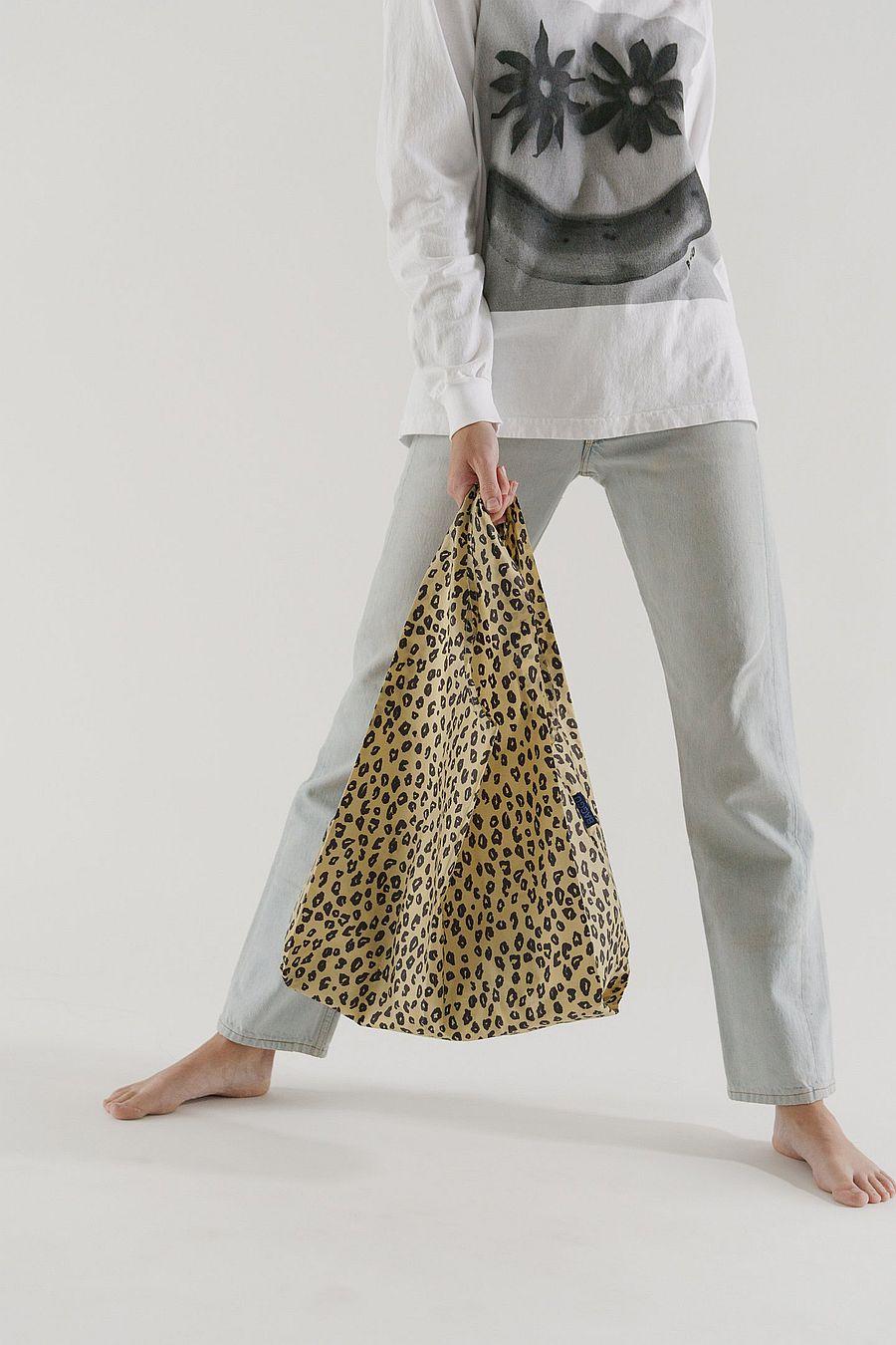 BAGGU Standard Baggu - Honey Leopard