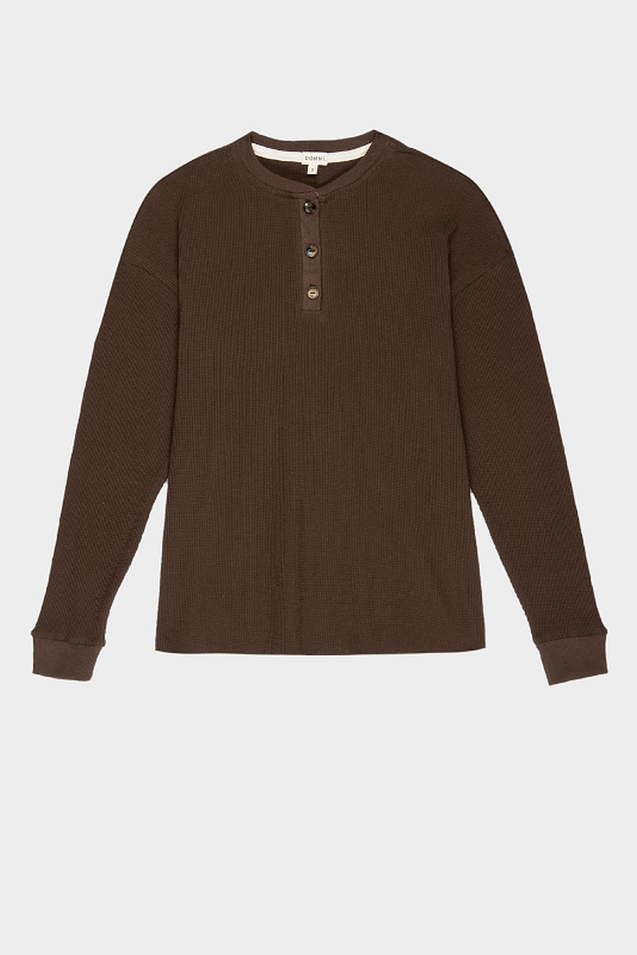 DONNI. Thermal Henley - Chocolate