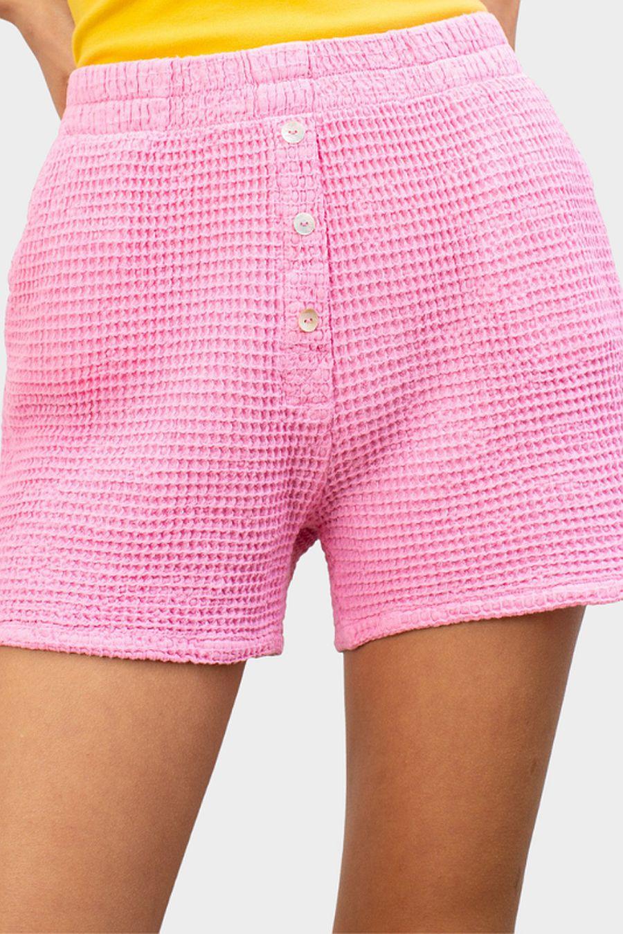 DONNI. Waffle Short - Flamingo