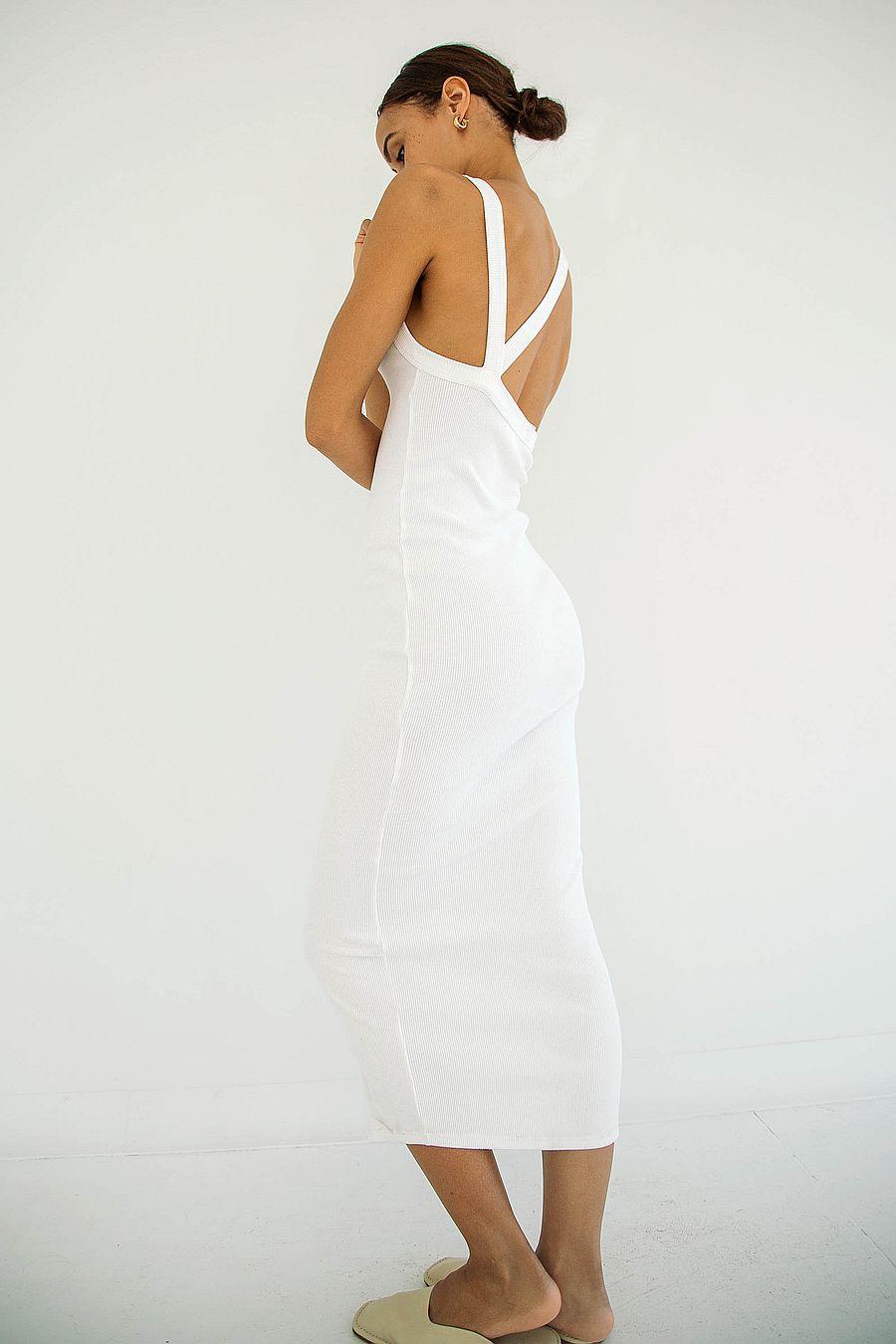 The Line by K Maribel Dress - Off-White