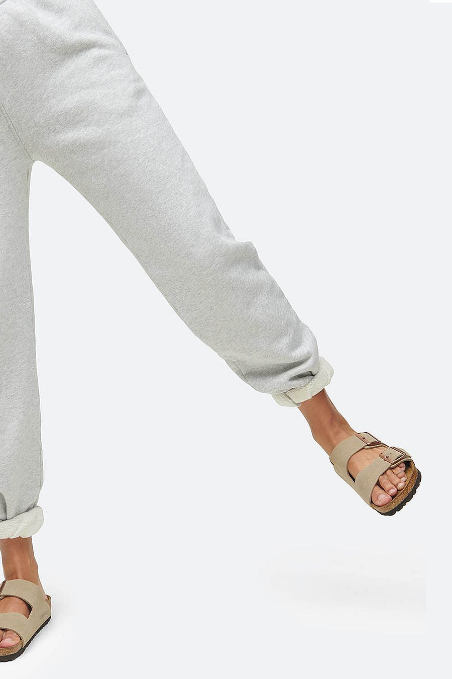 MATE The Label Fleece Relaxed Pocket Sweatpant - HEATHER GREY