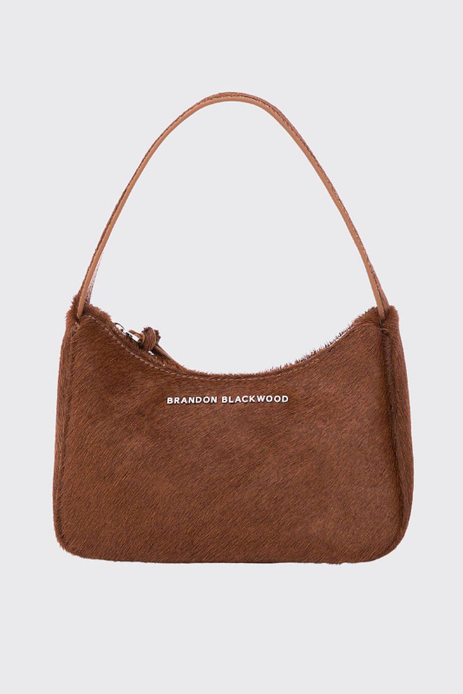 Brandon Blackwood SYL Bag - Brown Ponyhair