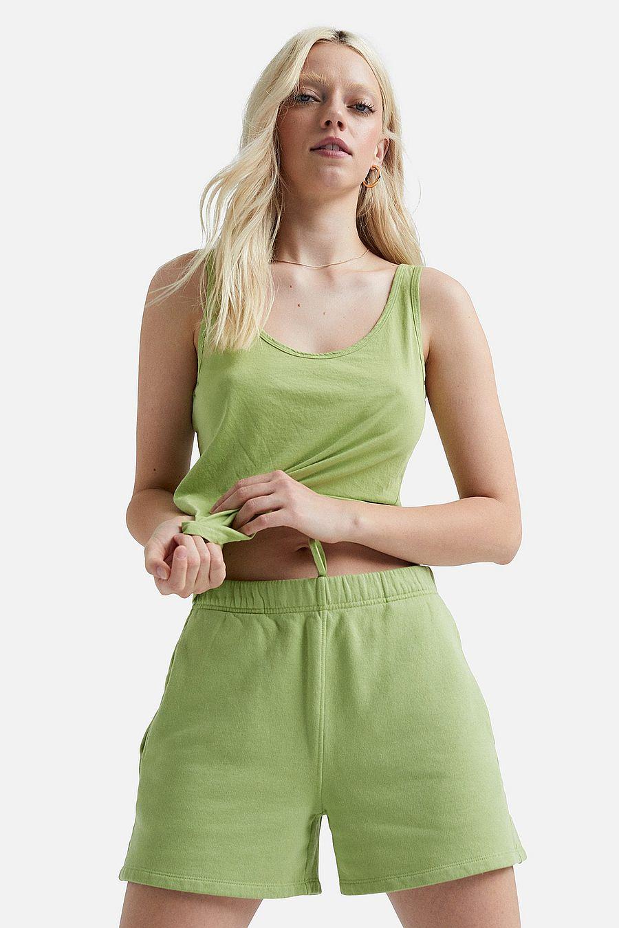 MATE The Label Fleece Pocket Short - PISTACHIO