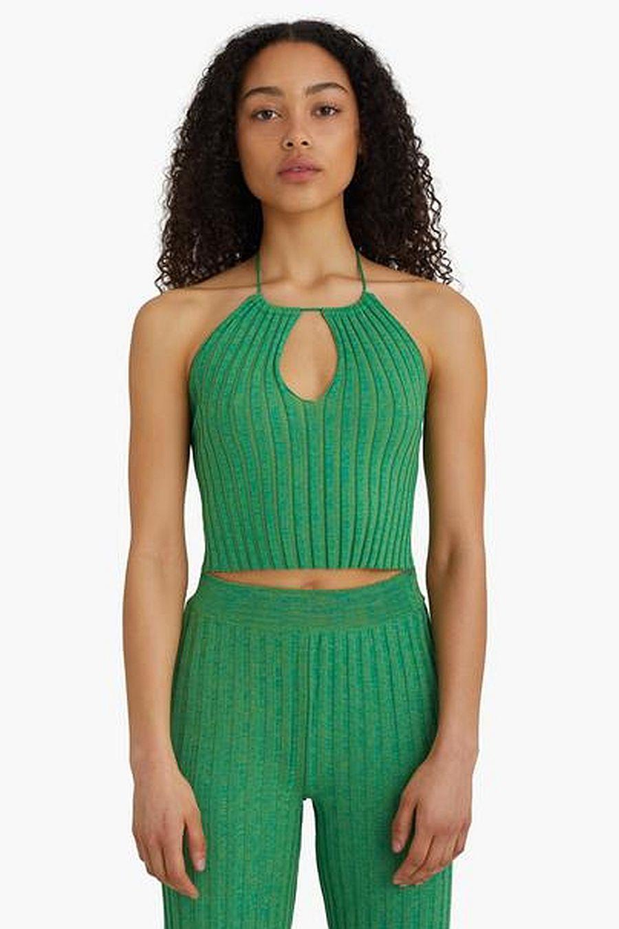 Paloma Wool Block Top - Green