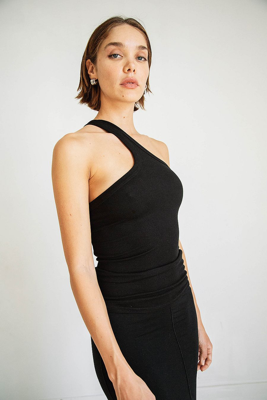 The Line by K Driss Tank - Black
