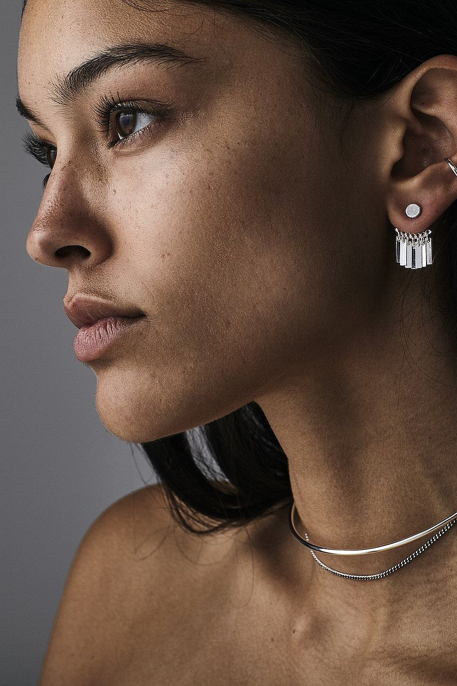Jenny Bird Raya Ear Jackets - Silver