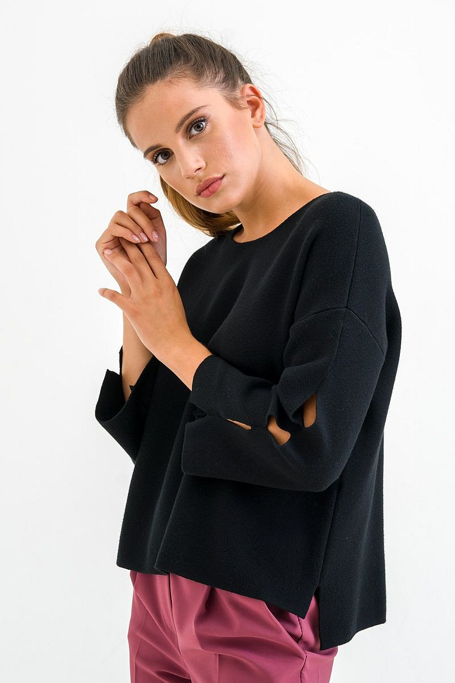 Reclaim More Than A Sweater - Black